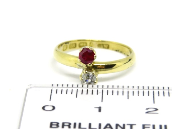 Victorian Ruby and Diamond