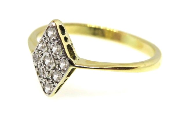Edwardian Diamond Marquise Ring